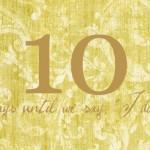 ten to go