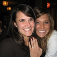 Mallory McBride, high school and college friend