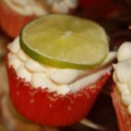 yum, margarita cupcake!