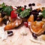 cilantro lime, grilled shrimp tacos