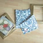 framed fabric