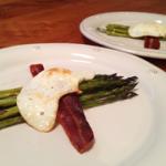 bacon + eggs with flair