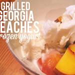 grilled, georgia peaches
