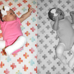 one month old | two months old