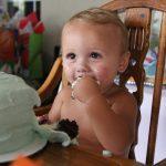 Britt Colby's first birthday